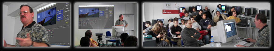Axis Training & Vertigo Productions, Skopje, Macedonia - Visual Effects Training