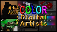 All About Color for Digital Artists with Master Trainer, Steve Wright. Learn what happens when color hits the computer